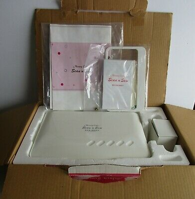 Janome Memory Craft Scan 'n Sew New Home Model 240 Made Japan