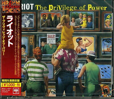 RIOT-PRIVILEGE OF POWER-JAPAN CD Ltd/Ed B63