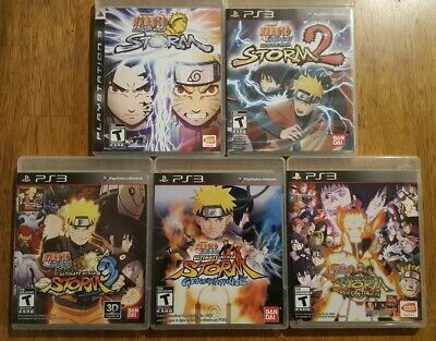 NARUTO: ULTIMATE NINJA Lot 5 Games + Bleach 1-4 + uzumaki Chronicles