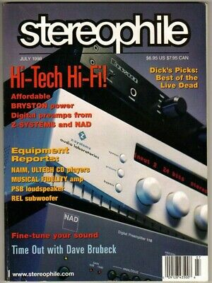 STEREOPHILE AUDIO MAGAZINES Complete First Issue Set, Vol 1