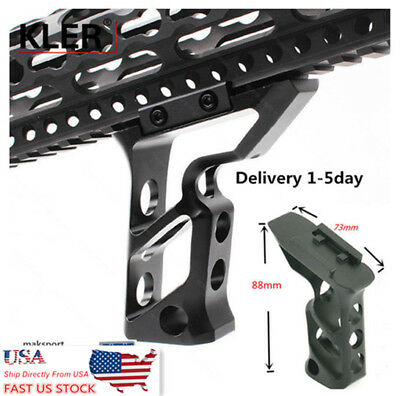 US Forward Skeleton Tactical Foregrip Angled Grip Handstop For Rifle Handguard
