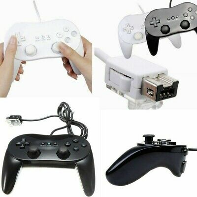 Classic Controller Pro Remote Joypad Game pad For Nintendo Wii Wii U Console UK