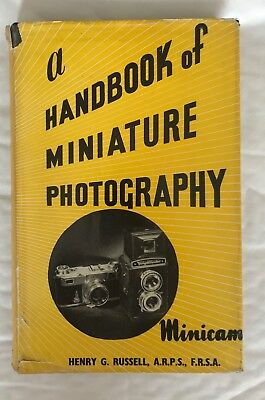 A Handbook of Miniature Photography, Hardback book