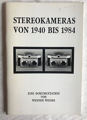 StereoKameras from 1940-1985  Paperback Book, German Language
