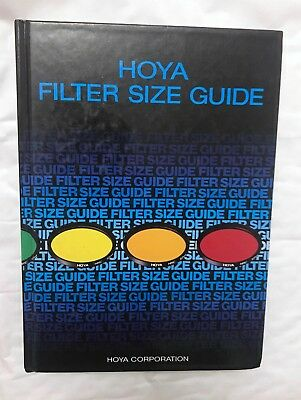 Hoya Filter Size Guide, Hardback Book
