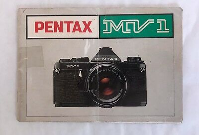Pentax MV1 Instruction Manual