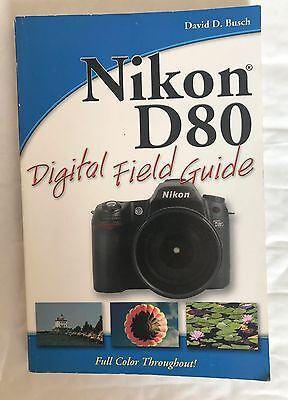 Nikon D80 digital field guide, Softback Book