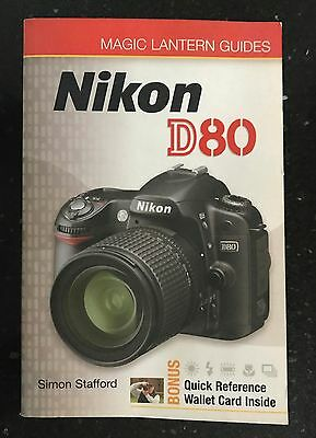 Nikon D80 Camera Guide, Softback Book