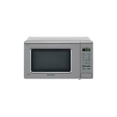 Daewoo KOR6M1RDSLR Duo-Plate Touch Control Microwave, 800 W, 20 Litre, Silver