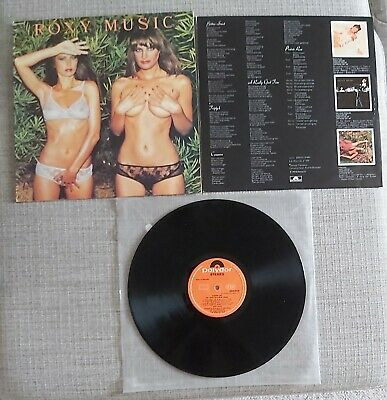Roxy Music - Country Life - Uk Re-Issue Lp On Eg/Polydor Records - 1974 - Vgc