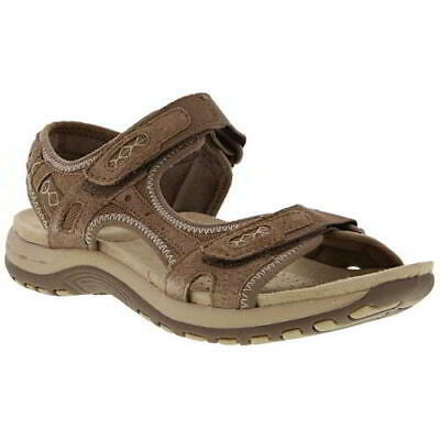 Earth Spirit Frisco Womens Ladies Brown Leather Sports Walking Sandals Size 4-8