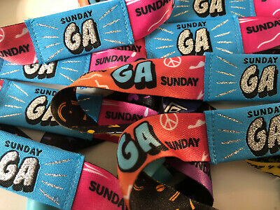 1-10 LOLLAPALOOZA TICKETS - Sunday - 2019 - Chicago - August 4 - Wristbands