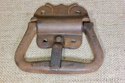 """4 1/2"""" drop Handle curved for a wood tub basin Tool Box trunk Pull old lever"""
