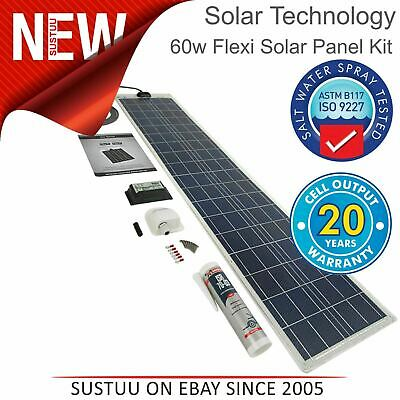 Solar Technology PV Logic 60W Flexible Panel Kit & 10A Control │ STPVFRT060