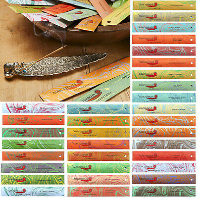 ❤️ Natural Organic High Quality Auroshikha Incense Joss Sticks 10g Mix & Match