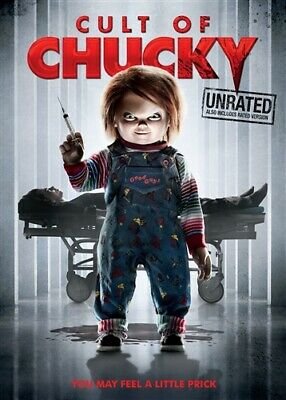 CULT OF CHUCKY New Sealed DVD Unrated + Rated Versions