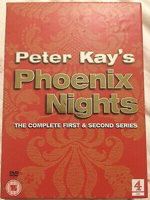 Peter Kay's Phoenix Nights: The Complete Series 1 & 2 DVD PAL Paddy McGuinness