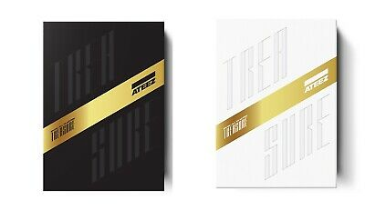 ATEEZ TREASURE EP.3 One To All Album CD+Booklet+Sticker+Poster+P. Cards+Tracking