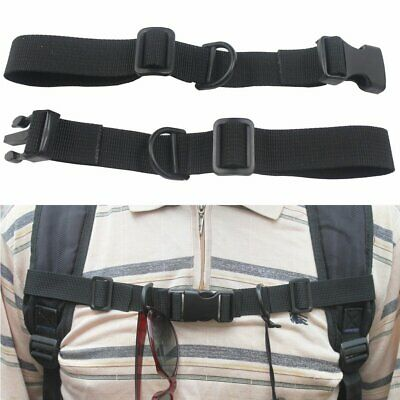 Adjustable Sternum Strap Backpack Chest Strap Buckle Travel Supplies TS