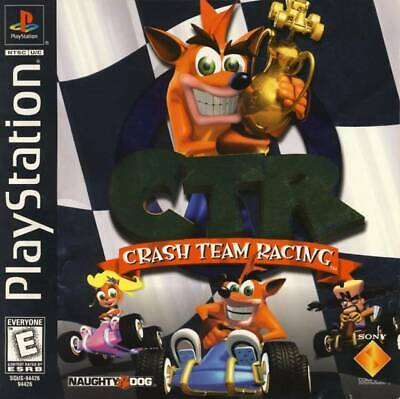 Crash Team Racing Ctr - PS1 PS2 Playstation Game Only