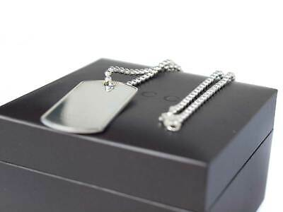 2be468f9f GUCCI 925 STERLING Silver G Dog Tag and Various Charms Necklace ...