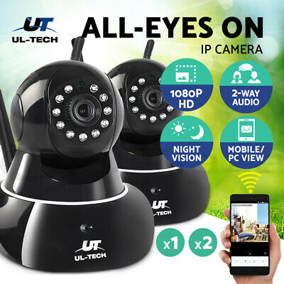UL-tech Wireless IP Security Camera CCTV System Outdoor Spy WIFI Cameras
