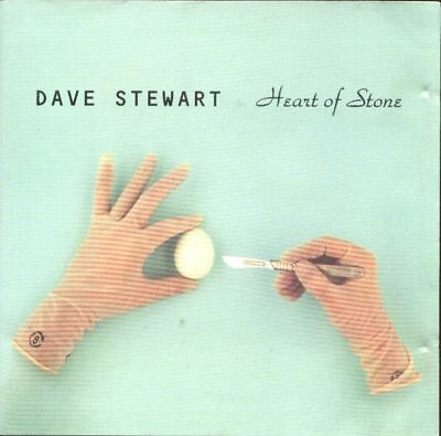 DAVE STEWART of The Eurythmics 1994 CD Single Heart Of Stone