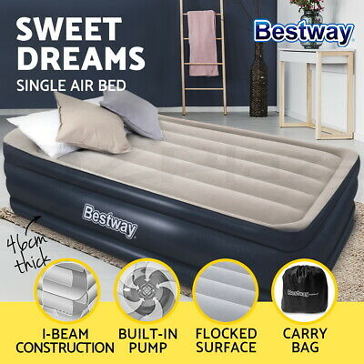 Bestway Queen Air Bed Air Beds Inflatable Mattress TRITECH Airbed Built-in Pump