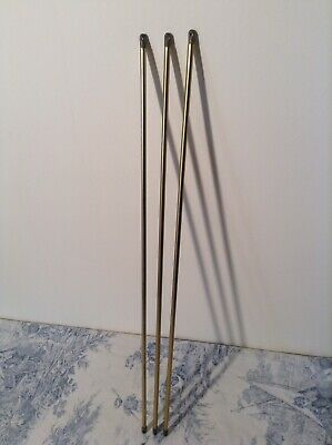 Set of Three French Extendable Cafe Curtain Rods (3615)