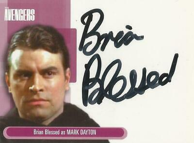 """The Avengers Definitive 1 : A7 Brian Blessed """"Mark Dayton"""" Autograph Card"""