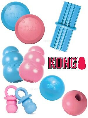 KONG Puppy Small Dog Toys Teething Treat Dispenser Chew Toy Snacks & Paste