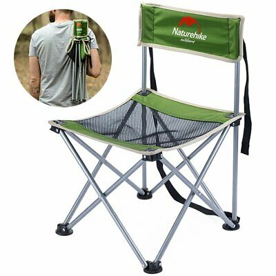 Folding Camping Deck Fishing Chairs High Back Directors Lightweight Picnic JO