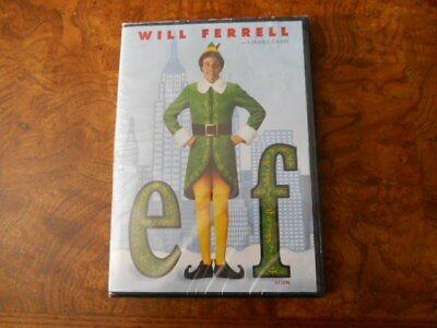 ELF (DVD,2004)  Widescreen Will Ferrell James Caan BILINGUAL NEW SEALED