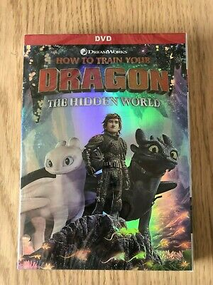How to Train Your Dragon 3: The Hidden World DVD Brand New Free Shipping!