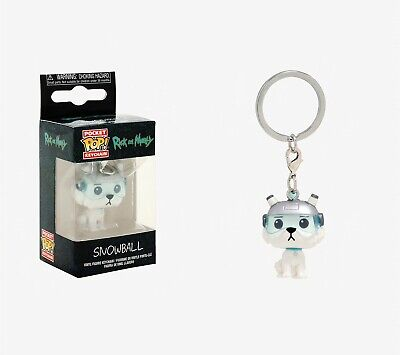 Funko Pocket Pop Keychain Rick and Morty: Snowball Vinyl Figure Keychain #32351