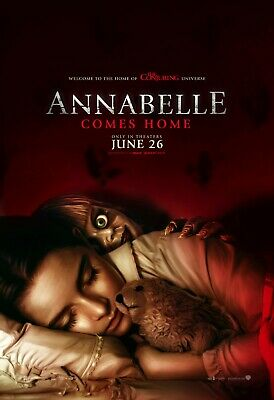 """Annabelle Comes Home Movie Poster  24x36"""" or  27""""x 40"""""""