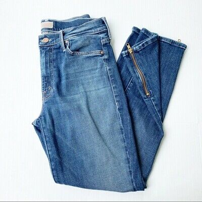 117799a98f27 MOTHER THE RASCAL Jeans Size 27 Meet Me at Midnight - $70.00 | PicClick