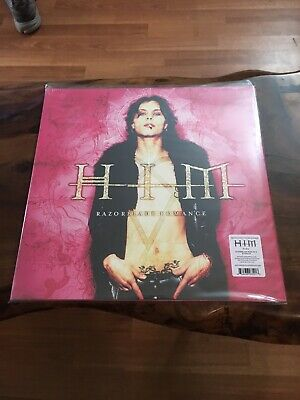 Him H.I.M - Razorblade Romance On Limited Magneta Vinyl. Factory Sealed