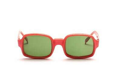 Vintage Orange / rose Pop Art sunglasses of the 70s by DOSCAR Made in Italy  N84