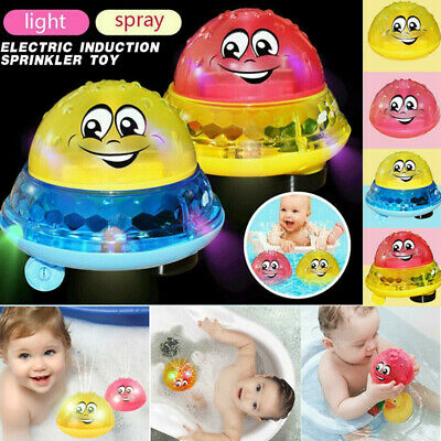 Baby Spray Water Bath Toy Automatic Induction Sprinkler Swimming Pool Kids Toy