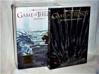 Game of Thrones The Complete Seasons Series (DVD, 2017, 38-Disc) Peter Dinklage