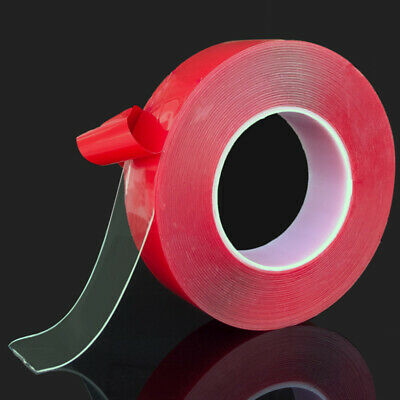 Car Sticker Transparent Double Sided Tape Band Household Wall Adhesive Glue Tape