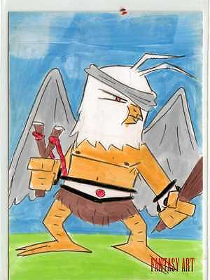 Fantasy Art Sketch Card by Jerry Fleming /23 - Unstoppable Loaded Pack Release