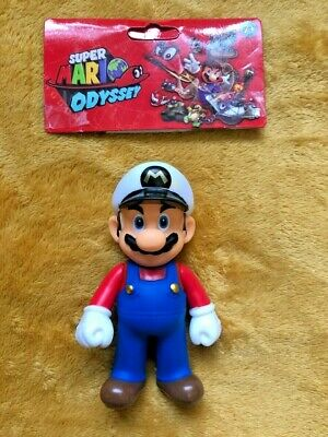 """Super Mario 5"""" Action Figure - Super Mario Odyssey Sailor Outfit -NEW & SEALED"""