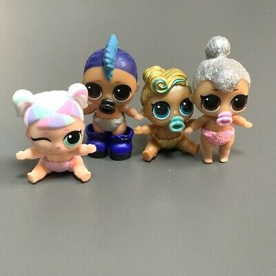 Lot 4X LOL Surprise LIL punk boi boy unicorn KITTY QUEEN LUXE 24K Series Doll