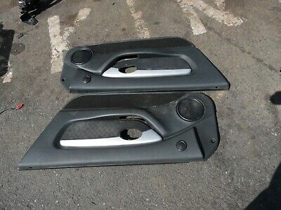 Mgf Mg Tf Dark Grey / Black Door Cards Complete With Inserts