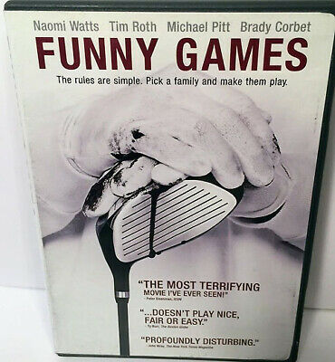 New Funny Games Dvd - Naomi Watts - Tim Roth - Michael Pitt - Barry Corbet