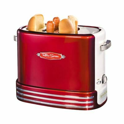 SMART 1950's Style Pop-Up Hot Dog Toaster Maker Appliance - Boxed Red Party