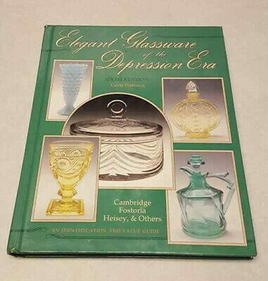 BOOK Elegant Glassware of the Depression Era 6th Values Guide Florence HC 1995