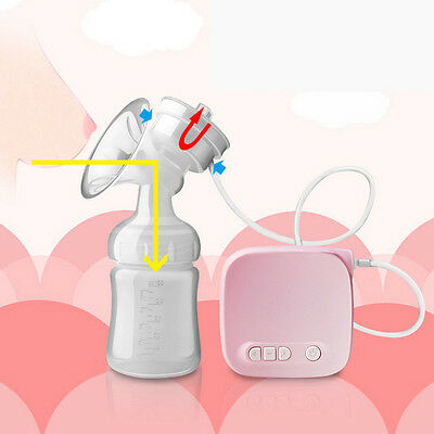 150ML Infant Electric Comfort Breast Pumping Breastpump Feeding Suction Bottle@2